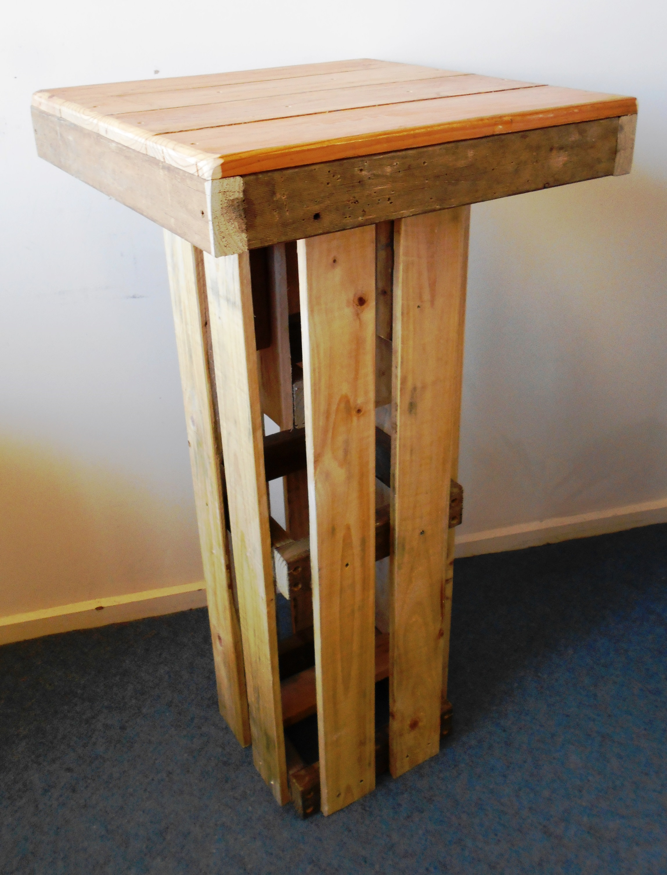 Rustic Bar Height Table